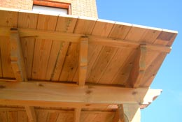 Tabla machihembrada de madera tratada - Madera de pino tratada ...