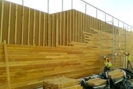 Rastrel de madera tratada - Empanelados de madera ...