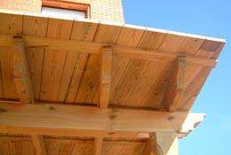 Tabla machihembrada de madera tratada for Madera de pino tratada