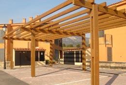 Vigas de madera tratada - Como restaurar vigas de madera ...