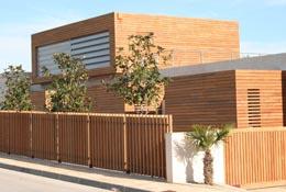 Listones de madera tropical - Listones de madera para exterior ...