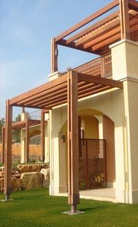 P rgolas de madera - Tipos de porches ...